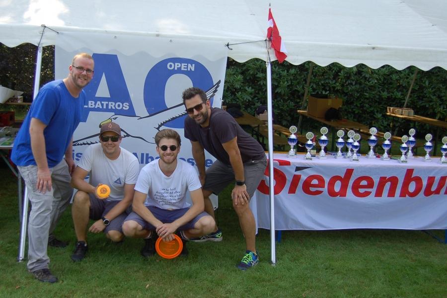 Matthias, Philipp, Hauke und Cord