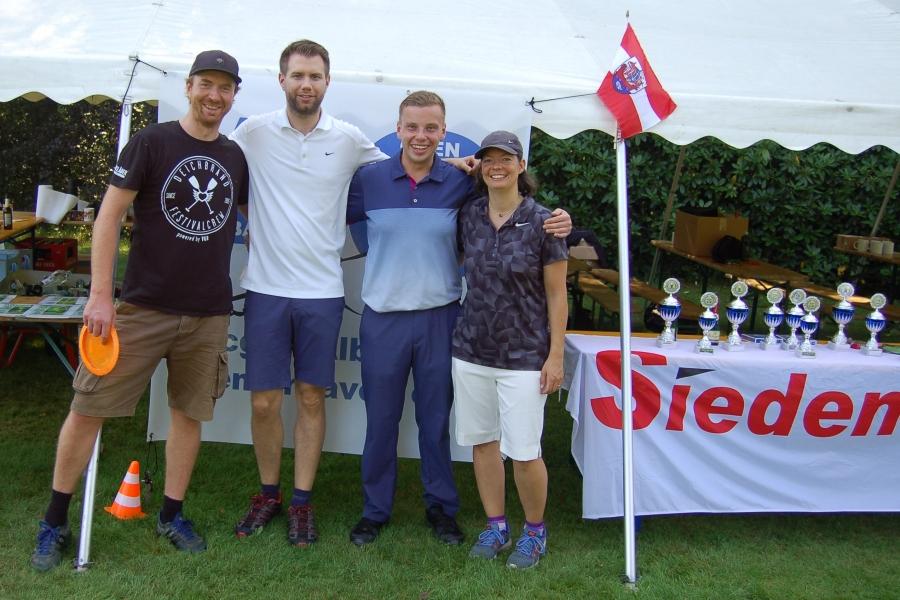 Markus, Malte, Karol und Wiebke