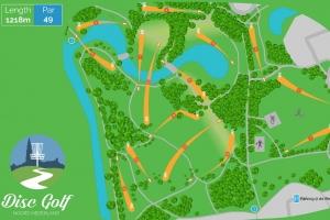 Disc Golf Parcours Steenbergerpark Hoogeveen