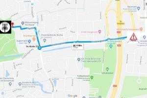 Route Panne Parcours