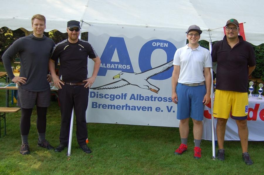 Torben, Philipp, Tobias und Marc
