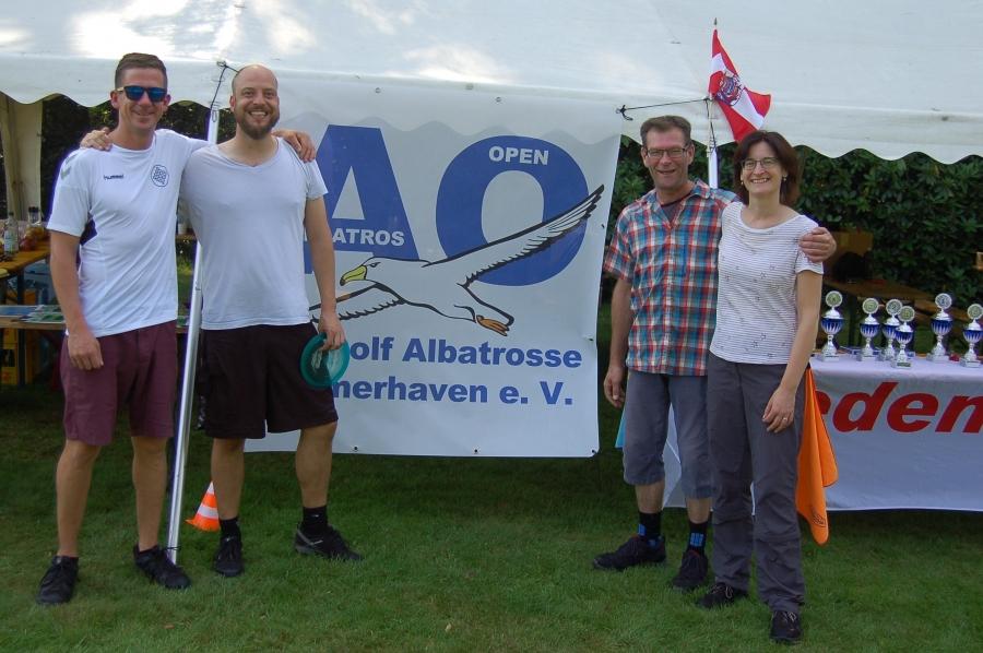 Patrick, Carsten, Rüdiger und Sylvia
