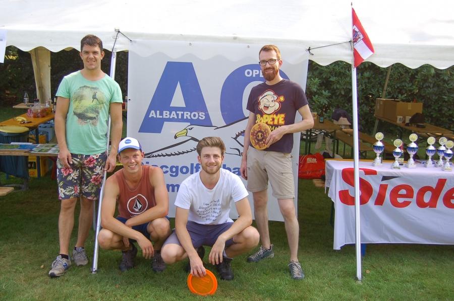 Philip, David, Hauke, Marcel