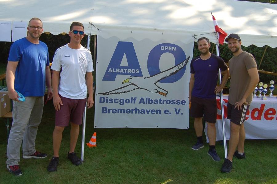 Matthias, Patrick, Gerrit und Björn