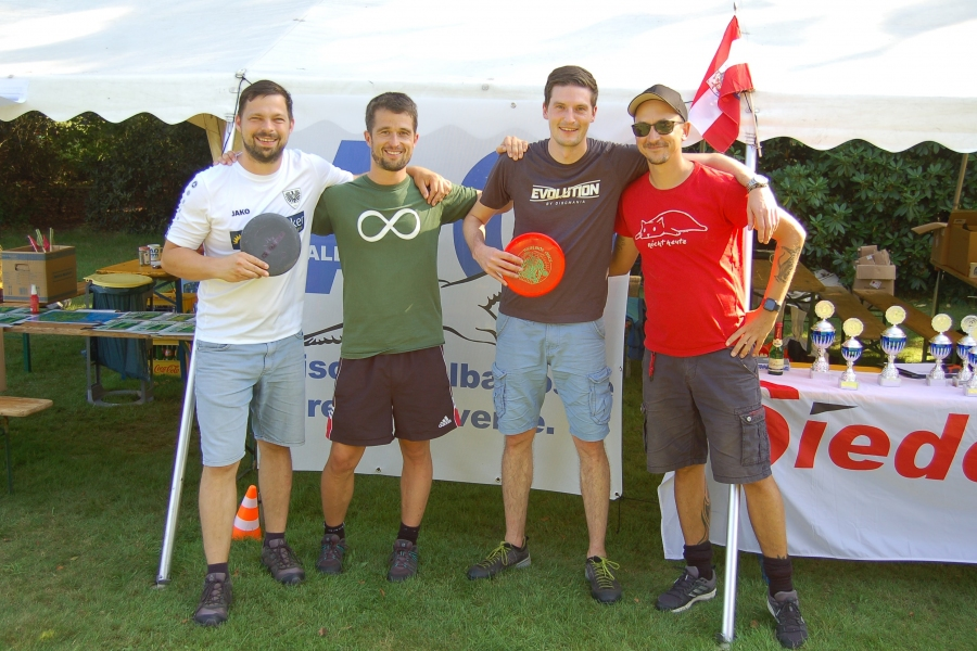 Christian, Timo, Holger und Thomas