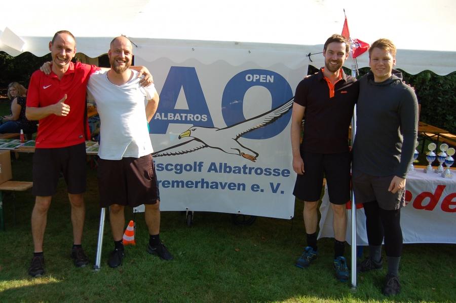 Ole, Carsten, Sebastian und Torben