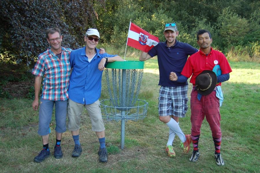 Rüdiger, Ralf, Julian und Hiromichi